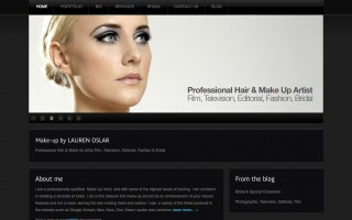 Make up by Lauren <br />Website &#038; Brand Design